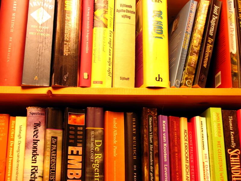 De oude boekenkast - Miwian.nl